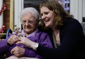 Susannah and her Grandmother Dorothy Milan<br />