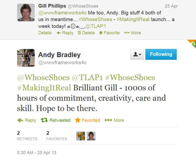 Andy Bradley tweet