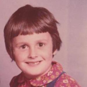 Anne Cooper, aged 6.