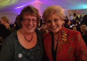 Meeting Angela Rippon at the Dementia Congress #dementiachallengers