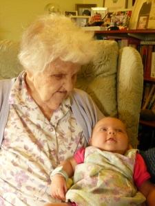 Jane's Mum & baby