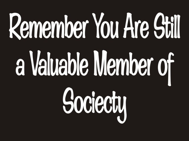valuable member of society