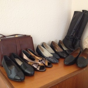 Some of Mum's shoes...