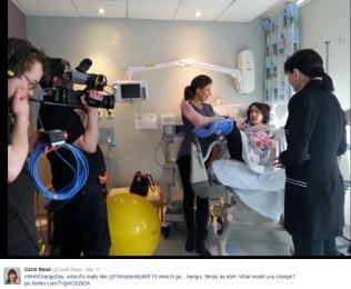 Flo - Helen & camera crew