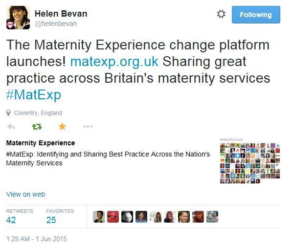 Helen Bevan - MatExp change platform