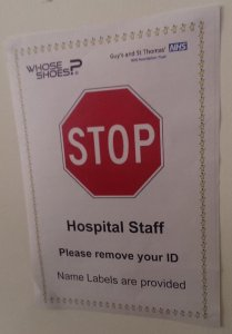 Name badges - STOP