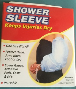 Shower sleeve. IMG_1180