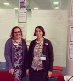 Flo and Leigh - RCOG safety day